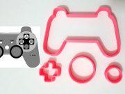 Cortador Controle Playstation 7×4,5cm