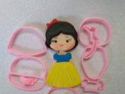 Cortador Coleção Princesas(10cm)
