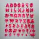 Marcador Letras e números 15mm