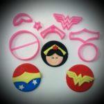 Cortador Kit Cupcake Mulher Matavilha 50mm