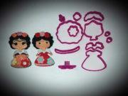 Cortador Boneca Frida 90mm