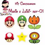 Cortador Kit Mario Bross