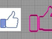Cortador Logo Facebook