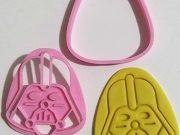 Cortador e Marcador Biscoito Darth Vader 7cm