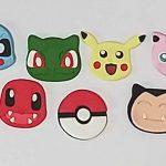 Cortadores Kit Pokemon 4,5cm
