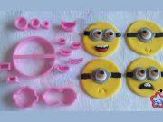 Cortador Minions 5cm (cupcake)